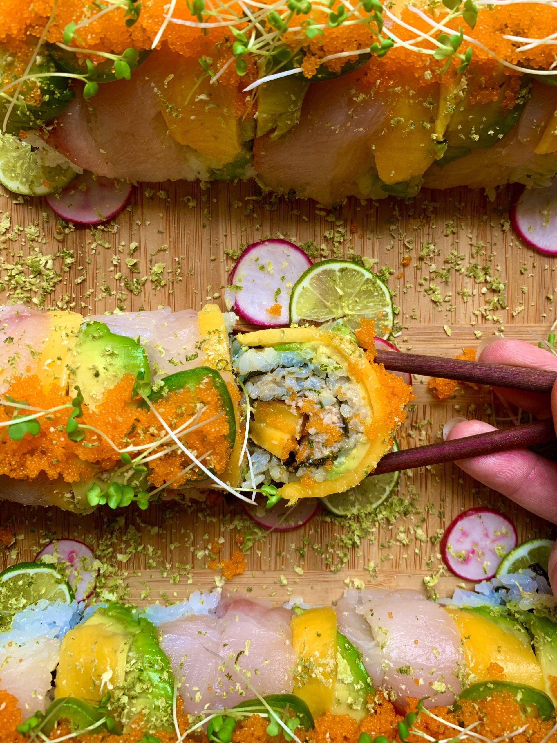 Decadent Sushi Rolls